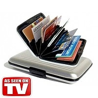 Aluma Wallet (Аллюма Уоллет) - бумажник, кошелек для кредиток и бумажных купюр escape:'html'