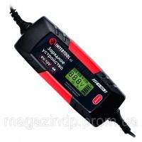 Зарядное устройство 6/12В, 1/2/3/4А, 230В, зимний режим зарядки, дисплей, максимальная емкость заряжаемого аккумулятора 1.2-120 а/ч INTERTOOL AT-3024 escape:'html'