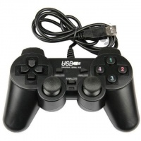 USB джойстик для ПК PC GamePad DualShock вибро 706