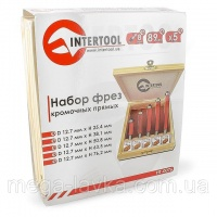 Набор фрез кромочных прямых, 5 шт. Intertool HT-0076|escape:'html'
