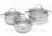 Набор кухонной посуды Fissman MARTINEZ 2 кастрюли и ковш escape:'html'