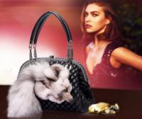 Меховая сумочка. Женская сумка из меха лисы|escape:'html'