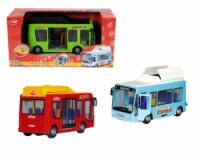 Игрушечный автомобиль Городской автобус с люком, 16 см|escape:'html'