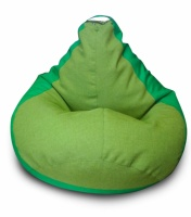 Кресло-мешок груша 120*90 см из ткани Микро-рогожка Саванна escape:'html'