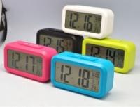 Настольные LED часы с будильником, термометром|escape:'html'