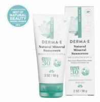 Натуральный солнцезащитный лосьон для лица без масел SPF 30 *Derma E (США)*
