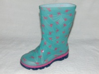 Детские резиновые сапожки для девочек фирмы Litma с 27р. по 35р. (фламинго)|escape:'html'