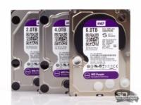 Жесткие диски WD Purple