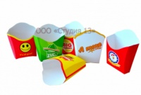 Упаковка для картошки фри 150 грамм.|escape:'html'