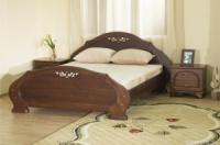 Кровати с массива дерева