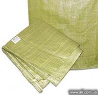 Мешки полипропиленовые 25 кг(55х105),зеденые(Китай)