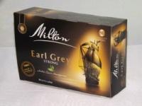 Чай MILTON черный с бергамотом, 80 пакетов|escape:'html'