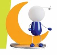 Детская настольная лампа Лунардо Бельгия эко|escape:'html'