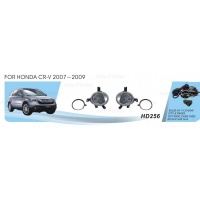 Фары доп.модель Honda CRV/2007/HD-256W/эл.проводка|escape:'html'