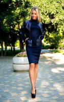 Отличный костюм платье и жакет размер 42-44 по супер-цене