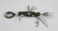 Мультитул, столовый прибор РК63 (9 предметов) Код:475253391
