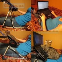 Раскладной столик-трансформер для ноутбука, нетбука SM-001