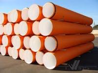 Труба ПВХ гофрированная ф1000 мм для наружной канализации|escape:'html'