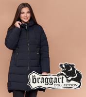 Braggart Diva 1939 | Длинная куртка женская большого размера темно-синяя