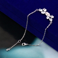 РАСПРОДАЖА! Модный браслет Xuping серебреный
