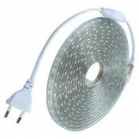1PCS 10M 220V 5050LED Flexible Tape Rope Strip Light Xmas Outdoor Waterproof Garden Outdoor Lighting EU Plug - COOL WH|escape:'html'