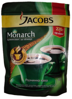 Кофе растворимый, сублимированный Jacobs Monarch 220 г.|escape:'html'
