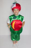 Детский карнавальный костюм «ЯБЛОКО»