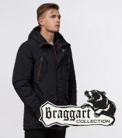 Зимняя мужская парка Braggart 48560 черный
