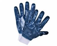 Перчатки рабочие хлопчатобумажные нитриловые и манжетом резинкой|escape:'html'