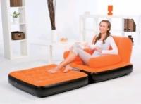 Надувное кресло кровать диван-трансформер Bestway 67277