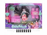 353282. Лялька з набором кухонних меблів«Enchantimals» 29*40*5,5см 77721 ТМ«КИТАЙ» escape:'html'