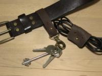 Комплект - кожаный брелок и органайзер для провода Дощ#k61h21|escape:'html'