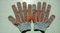 Рабочие перчатки с ПВХ точкой 13 класс escape:'html'