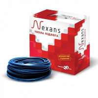 Теплый пол электрический одножильный нагревательный кабель Nexans TXLP/1,  400/17  (0,366 кВт) 23,5 м