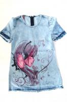 Джинсовое платье для девочки Alf 6|escape:'html'