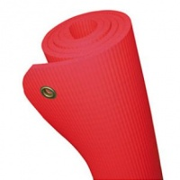Коврик для финтеса с отверстиями HD Mat Sveltus (Свелтус) 180х60х1 см, цвет: красный