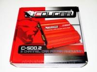 Усилитель Cougar 500.2 1000Вт 2-х канальный