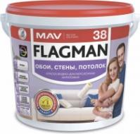 Краска для потолков, стен Flagman 38 (ВД-АК-2038).|escape:'html'
