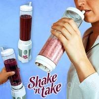 Блендер для приготовления Ваших любимых коктейлей Shake 'n Take Код:23869971|escape:'html'