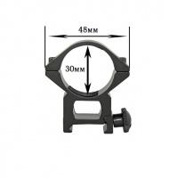 Крепление на оружие для фонаря (d = 30 мм) Ширина планки: 19мм|escape:'html'