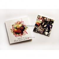 Шоколадный набор с фото. ShokoBox. 12,5х12,5 см (9 шт). Sweet 18 Очень сильно люблю