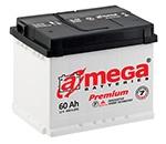 Автомобильный аккумулятор A-MEGA Premium 60 Ач