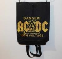 Рюкзак «AC DC» классический с символикой рок группы. escape:'html'