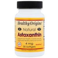 Healthy Origins, Астаксантин, 4 мг|escape:'html'