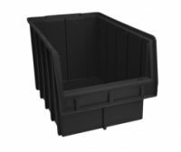 Ящики для метизов пластиковые черные Арт. 700 Ч/лоток для крепежа,стеллажи для крепежа,ящик для крепежа