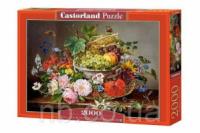 Пазлы «Букет из фруктов и цветов», 2000 элементов С-200658