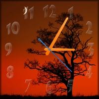Настенные часы Закат