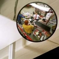 Зеркало наблюдения сферическое К-400|escape:'html'