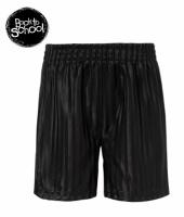 Шорты черные спортивные в полоску, бренд ««Back to School» (Англия)