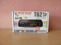 World Vision T62D цифровой эфирный тюнер Т2 (DVB-T2 приемник, ресивер, приставка)|escape:'html'